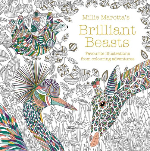 Millie Marotta's Brilliant Beasts (colouring book) - jiminy eco-toys