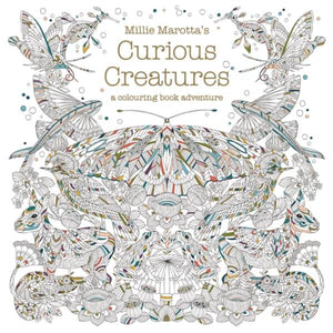 Millie Marotta's Curious Creatures (colouring book) - jiminy eco-toys