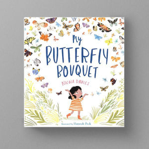 My Butterfly Bouquet (a paperback book by Davies, Nicola) - jiminy eco-toys