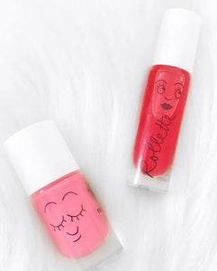 Nailmatic Lip and Nail gift set - Holidays (Strawberry gloss and Cookie polish) - jiminy eco-toys