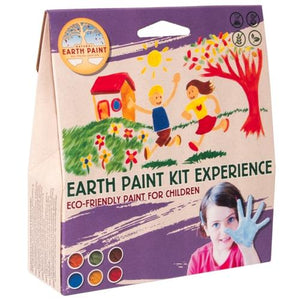 Natural Earth Paint Kit - powder, 6 colours MADE OUTSIDE OF EUROPE - jiminy eco-toys