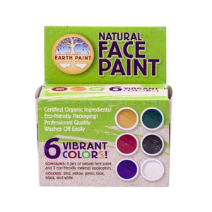 Natural Face Paint MADE OUTSIDE OF EUROPE, CONTAINS PLASTIC - jiminy eco-toys