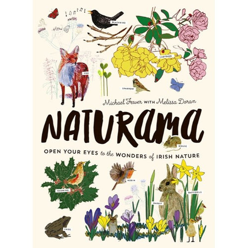 Naturama (hardback book by Michael Fewer and Melissa Doran) - jiminy eco-toys