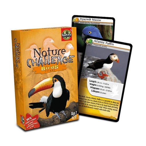 Nature Challenge - Birds! A group card game for ages 7+ - jiminy eco-toys