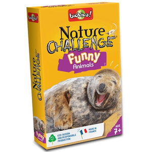 Nature Challenge - Funny Animals! A group card game for ages 7+ - jiminy eco-toys