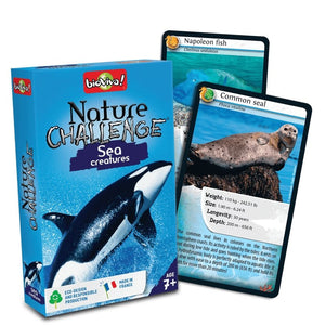 Nature Challenge - Sea Creatures! A group card game for ages 7+ - jiminy eco-toys