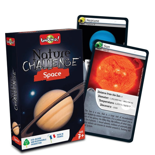 Nature Challenge - Space! A group card game for ages 7+ - jiminy eco-toys