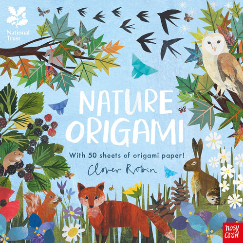 Nature Origami (a paperback book by Clover Robin) - jiminy eco-toys
