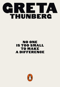 No One Is Too Small to Make a Difference - illustrated version, a paperback book of speeches by Greta Thunberg - jiminy eco-toys