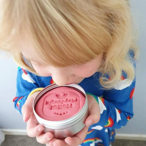 Organic scented handmade play dough in plastic-free tin - jiminy eco-toys