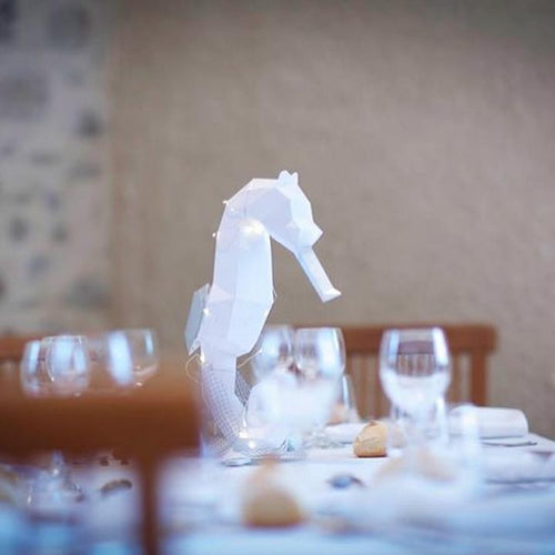 Paper Pet Kit: Seahorse - made in Ireland - jiminy eco-toys