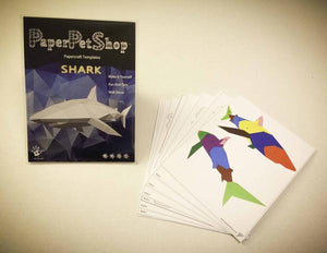 Paper Pet Kit: Shark - made in Ireland - jiminy eco-toys