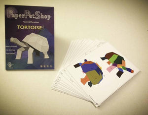 Paper Pet Kit: Tortoise - made in Ireland - jiminy eco-toys