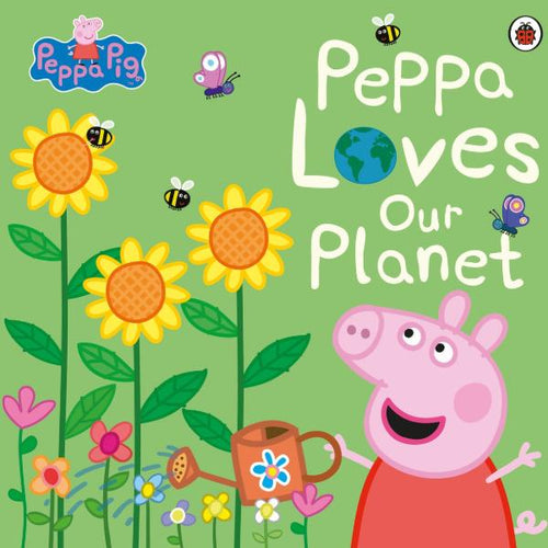 Peppa Pig: Peppa Loves Our Planet (a paperback book by Peppa Pig) MADE FAR AWAY WON'T REORDER - jiminy eco-toys