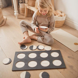 Phases of the Moon wooden puzzle by StukaPuka - jiminy eco-toys