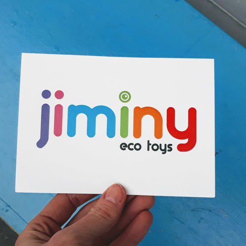 Physical gift card - jiminy eco-toys