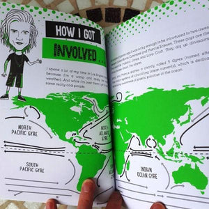 Plastic Sucks! You Can Make a Difference (a paperback book by Dougie Poynter) - jiminy eco-toys