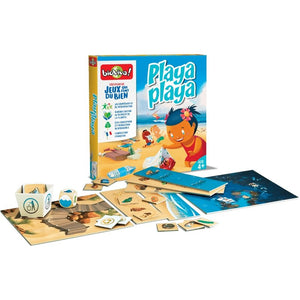 Playa Playa - a cooperation board game for ages 4+ - clean the beach, save the sealife! - jiminy eco-toys