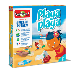 Playa Playa - a cooperation board game for ages 4+ - clean the beach, save the sealife!