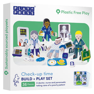 Playpress Check-Up Time build and play set - jiminy eco-toys
