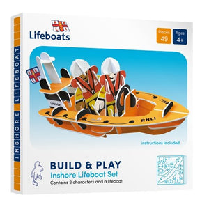 Playpress RNLI lifeboat build and play set - jiminy eco-toys