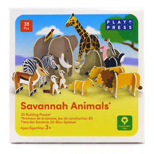 Playpress Savannah build and play set - jiminy eco-toys