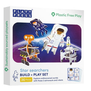 Playpress Star Searchers build and play set - jiminy eco-toys