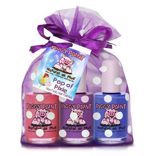 Pop of Pixie 3-Piggy-Paints Gift Set (Jazz it Up, Tutu Cool, Tea Party for Two) - jiminy eco-toys