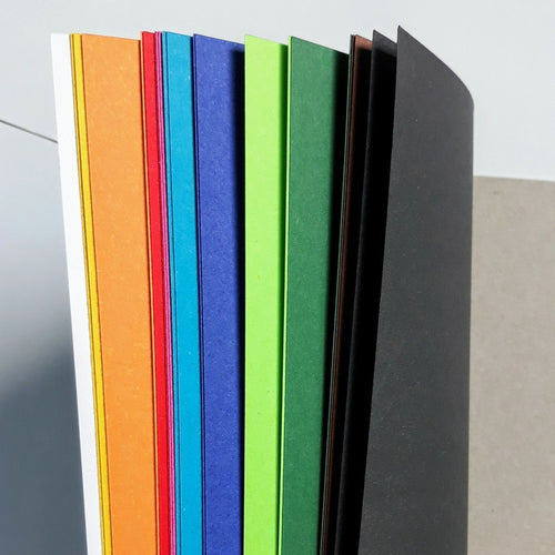 Rainbow of colours paper pad - jiminy eco-toys