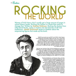 Rocking the System - Fearless and Amazing Irish Women who Made History (paperback book by Siobhan Parkinson) - age 11+ - jiminy eco-toys
