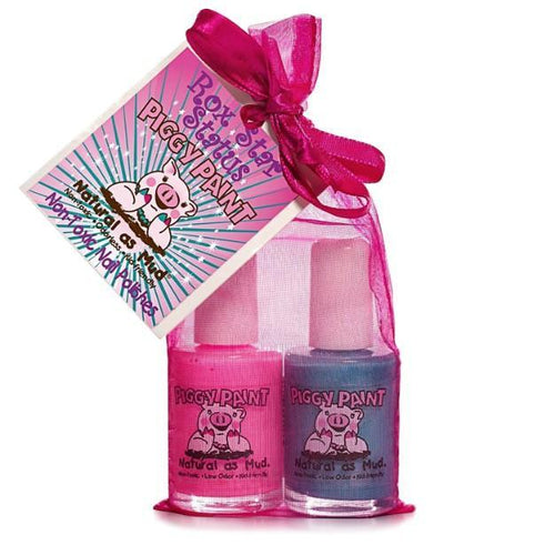 Rox Star Status 2-Piggy-Paints Gift Set (Forever Fancy, Sea-quin) - jiminy eco-toys
