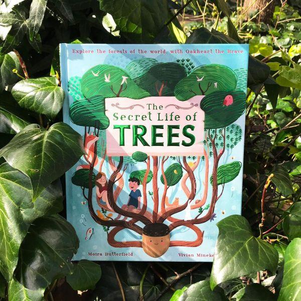Secret Life of Trees (a hardback book by Butterfield, Moira) - jiminy eco-toys