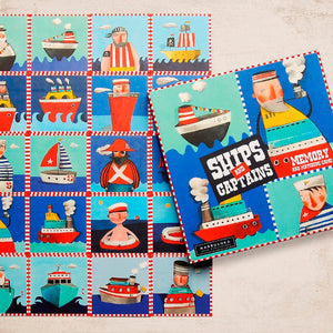 Ships And Captains - a memory game for ages 3+