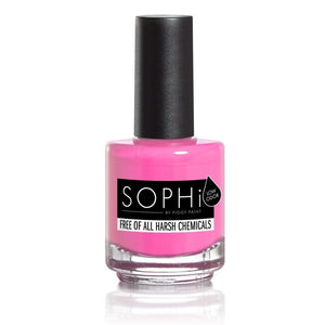 SOPHi biodegradable, odourless, pregnancy-safe durable adult nail polish - jiminy eco-toys
