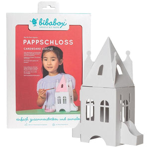 Spooky colour-in 3D haunted castle - jiminy eco-toys