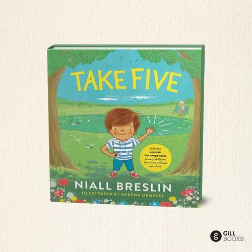 Take Five! (paperback book by Niall Breslin) - jiminy eco-toys