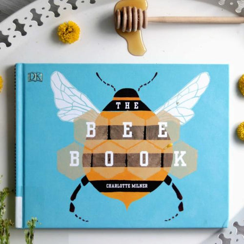 The Bee Book by Charlotte Milner, hardback book - jiminy eco-toys