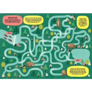 The Big Green Activity Book: Eco Mazes, Games, Quizzes, Puzzles (by Damara Strong) MADE FAR AWAY - jiminy eco-toys