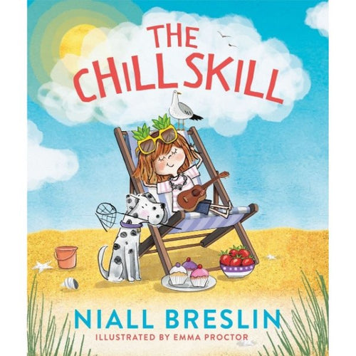 The Chill Skill (paperback book by Niall Breslin) - jiminy eco-toys