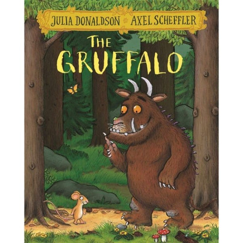 The Gruffalo (a paperback book by Donaldson, Julia) - jiminy eco-toys