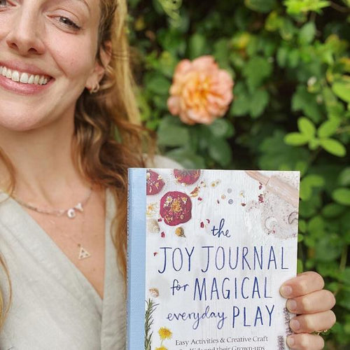 The Joy Journal for Magical Everyday Play: Easy Activities & Creative Craft for Kids and their Grown-ups (a paperback book by Laura Brand) - jiminy eco-toys
