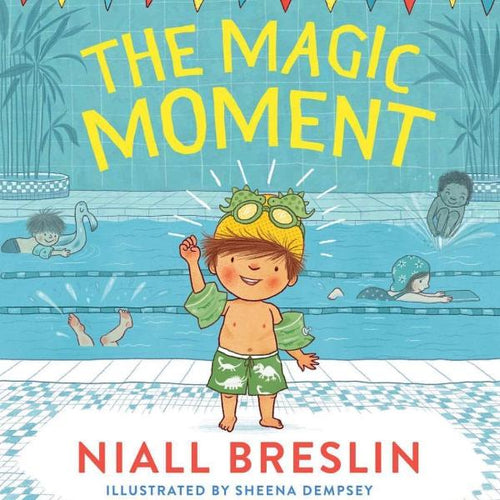 The Magic Moment (paperback book by Niall Breslin) - jiminy eco-toys