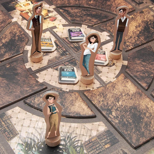 The Mysterious Library - a cooperation board game for ages 8+ - jiminy eco-toys