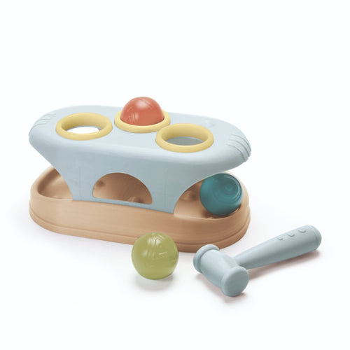 Tiny Bioplastic Pounding Bench - from age 10 months - jiminy eco-toys