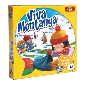 Viva Montanya - a cooperation board game for ages 4+ - clean the mountain, safe the wildlife! - jiminy eco-toys