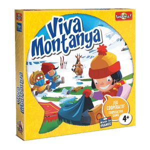 Viva Montanya - a cooperation board game for ages 4+ - clean the mountain, safe the wildlife!