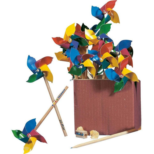 Windmill pencils - jiminy eco-toys