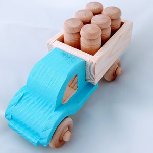 Wooden Irish Milk Churn Truck - jiminy eco-toys