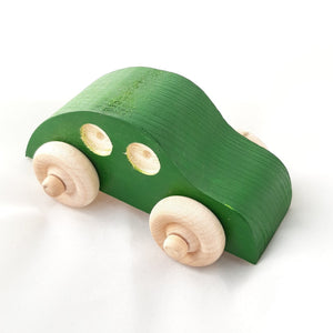 Wooden Irish Small Car - jiminy eco-toys