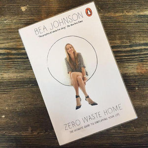 Zero Waste Home: The Ultimate Guide to Simplifying Your Life (paperback book for adults by Bea Johnson) - jiminy eco-toys